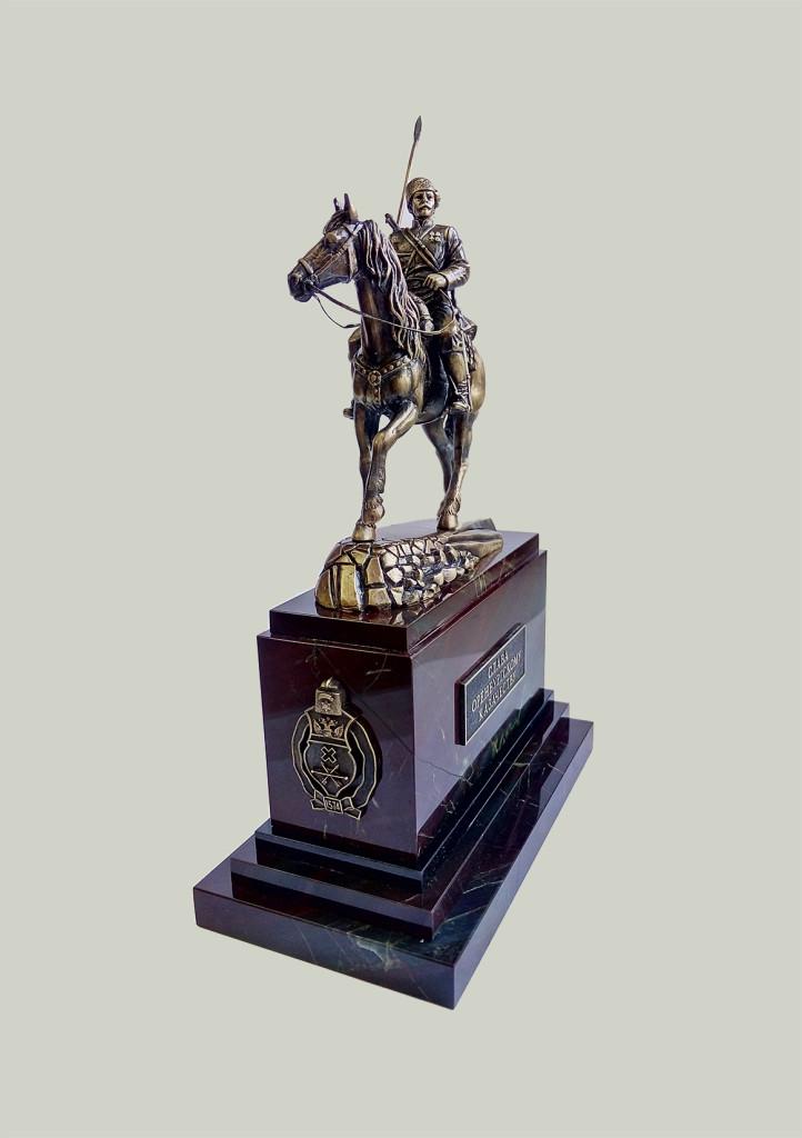 Памятник Оренбургскому Казачеству (г. Орск)
